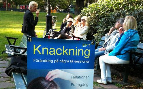 Favorit i repris: EFT-knackning i parken